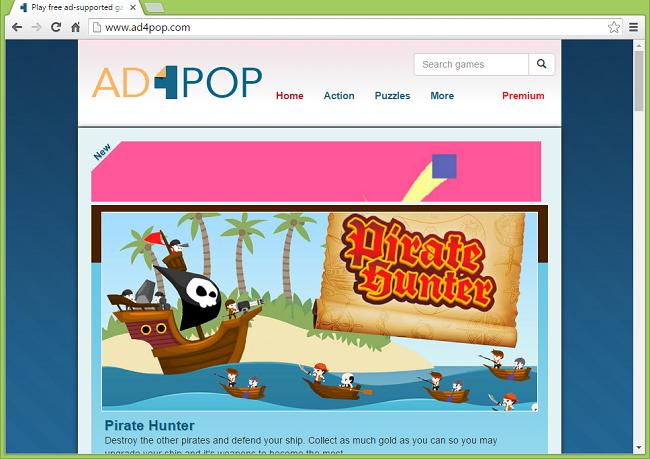 ad4pop.com website