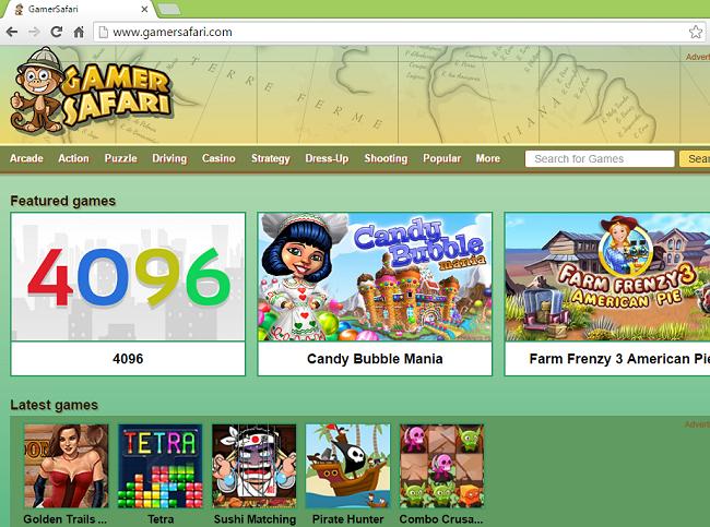 GamerSafari website