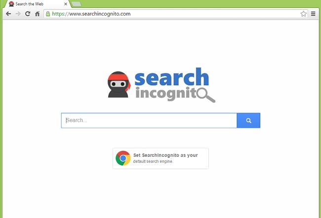 El sitio searchincognito.com