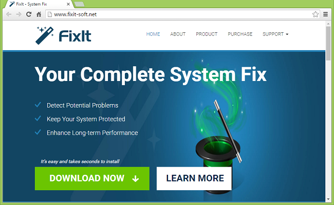 How to uninstall FixIt