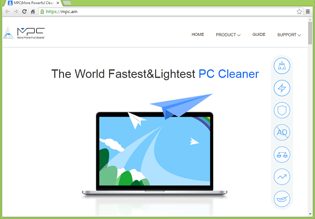 How to stop ads by MPC Cleaner