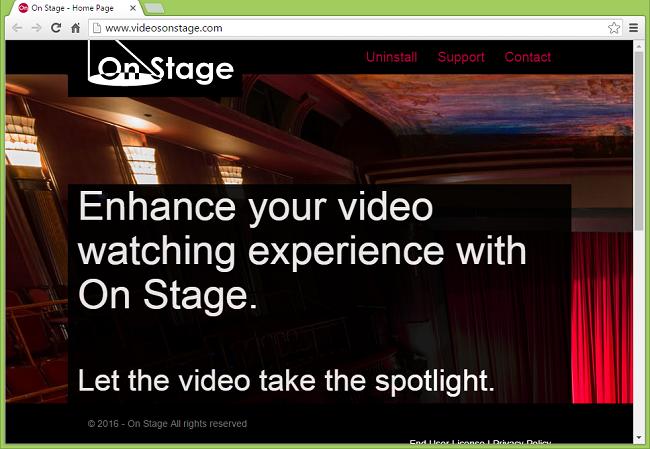 Cómo dejar de avisos de On Stage