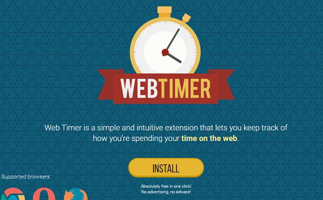 Web Timer adware