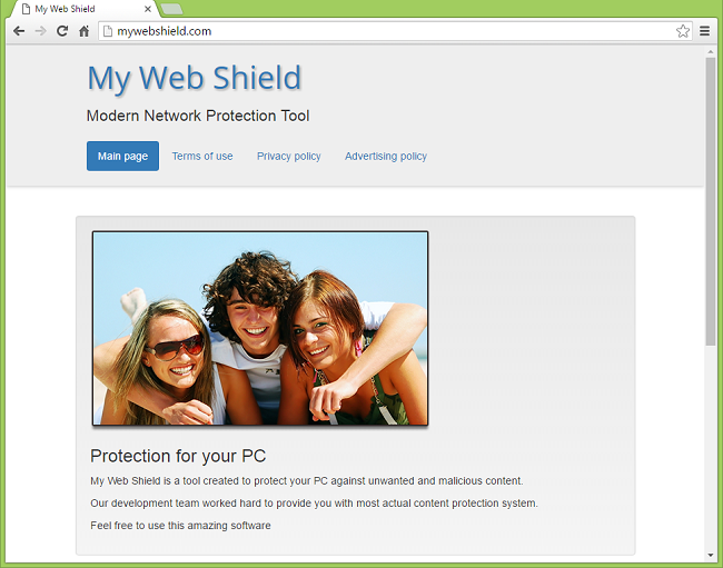How to remove My Web Shield and stop the ads