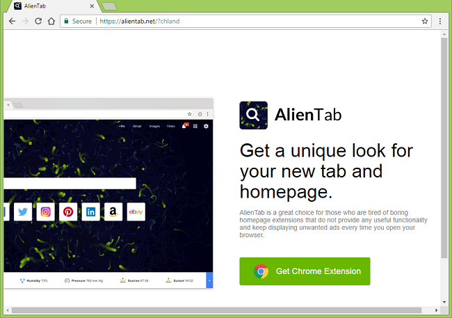 How to stop https://alientab.net/?chland/ ads