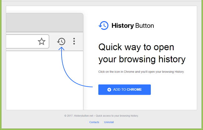 """How to remove History Button (""""This extension is managed and cannot be removed or disabled."""""""