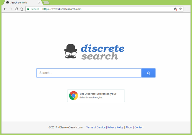 How to stop https://www.discretesearch.com/ redirects
