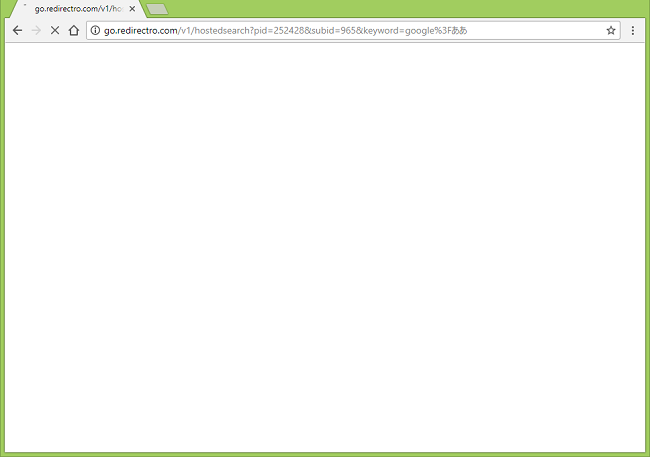 How to stop http://go.redirectro.com/v1/hostedsearch?pid=... redirects