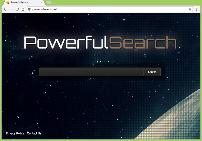 How to stop http://powerfulsearch.net/ redirects