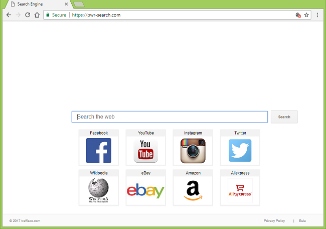 Como parar http://pwr-search.com/ redirects