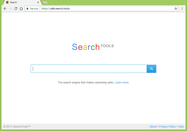 How to stop https://safe.search.tools/ (SearchTools) redirects