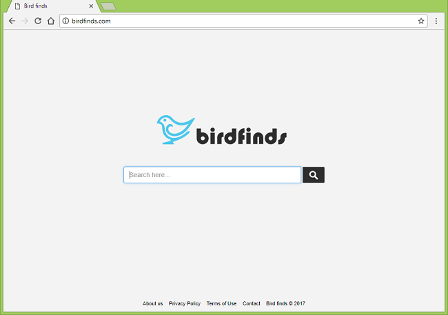 How to delete http://birdfinds.com/ virus