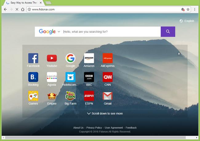 How to delete http://www.fidonav.com/ virus