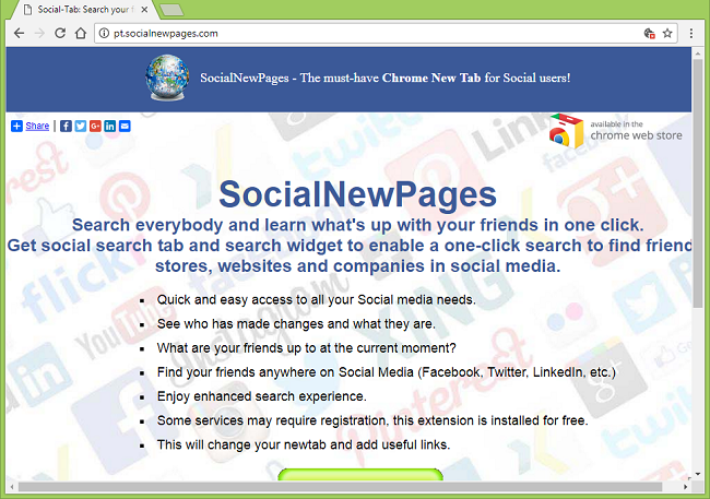 How to delete Socialnewpages.com virus