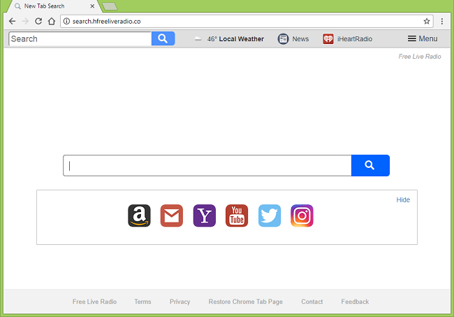 How to delete http://search.hfreeliveradio.co/?uc=... (Free Live Radio) virus