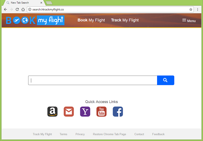 How to delete http://search.htrackmyflight.co/ virus