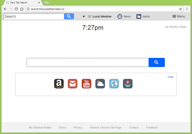 How to delete http://seach.hmyweatherradar.co/ virus