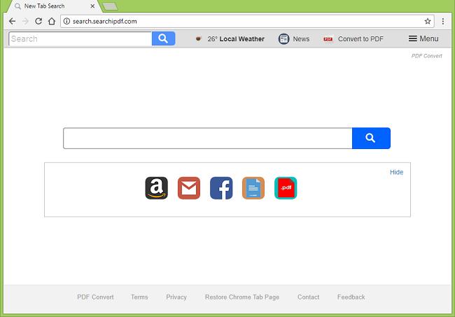 Cómo dejar de http://redirecciones search.searchipdf.com/