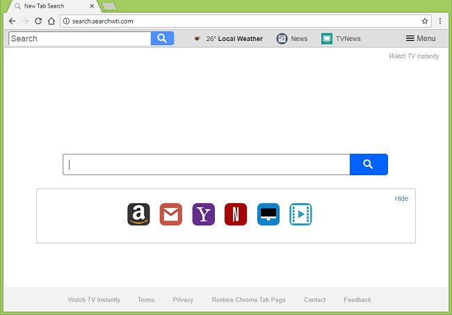 Comment arrêter http://réoriente search.searchwti.com/