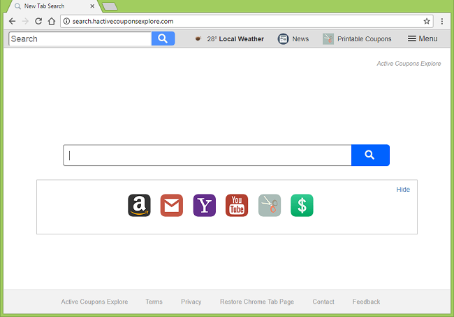 Delete http://search.hactivecouponsexplore.com/?uc=... virus