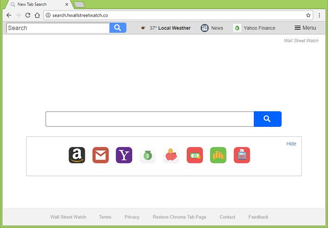 Delete http://search.hwallstreetwatch.co/?uc= virus