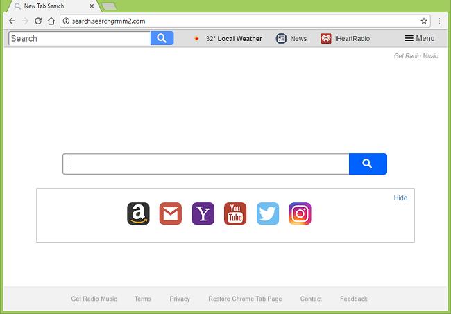 Delete search.searchgrmm2.com virus