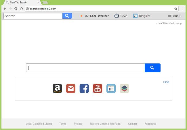 Delete http://search.searchlcll2.com virus