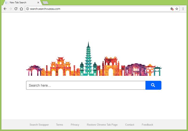 Delete http://search.searchvuzeau.com (Search Swapper) virus
