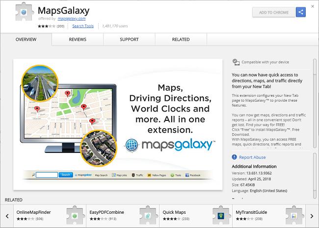 0fc5eb68c Como remover Mapas Galaxy New Tab (O meu caminho) - CompuTips