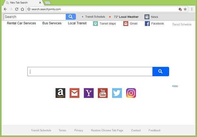 Delete http://search.searchjsmts.com/?uc= virus (Transit Schedule)