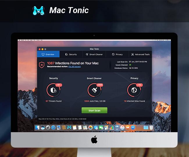delete Mac Tonic virus from Macbook
