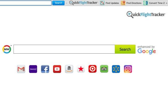 Delete Quick Flight Tracker New Tab virus
