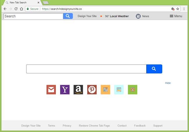 Delete http://search.hdesignyoursite.co/?uc virus