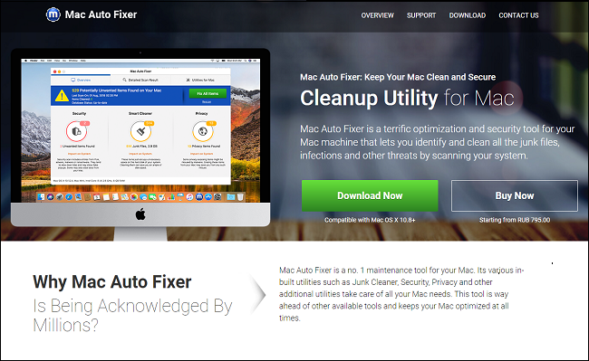 delete Mac Auto Fixer virus from Macbook