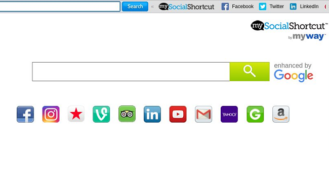 delete My Social Shortcut new tab virus (My way virus)
