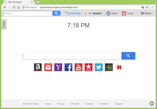 delete http://search.hdownloadmyinboxhelper.com/?uc new tab page virus