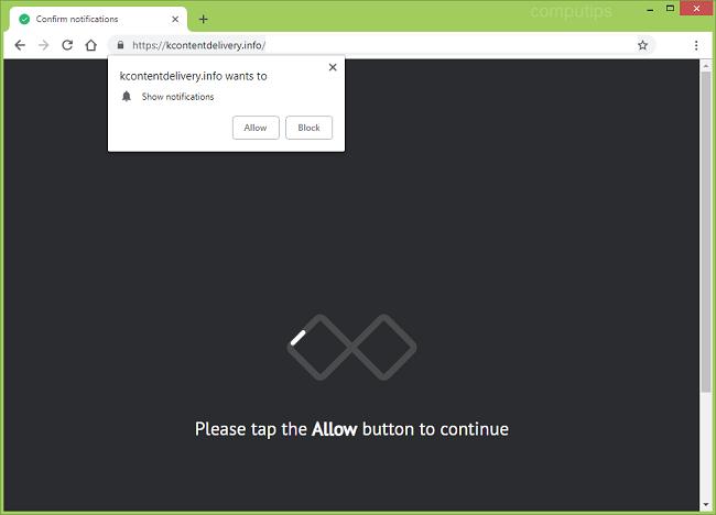 Delete https://kcontentdelivery.info, p8.kcontentdelivery.info, p7.kcontentdelivery.info, p6.kcontentdelivery.info, p5.kcontentdelivery.info virus notifications (k content delivery info virus)