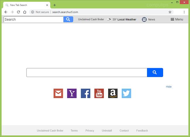 delete http://search.searchucf.com/ virus