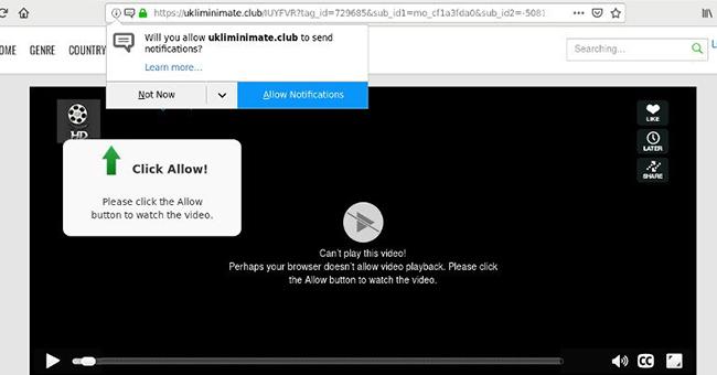 Delete https://Ukliminimate.club, p8.Ukliminimate.club, p7.Ukliminimate.club, p6.Ukliminimate.club, p5.Ukliminimate.club, p4.Ukliminimate.club virus notifications