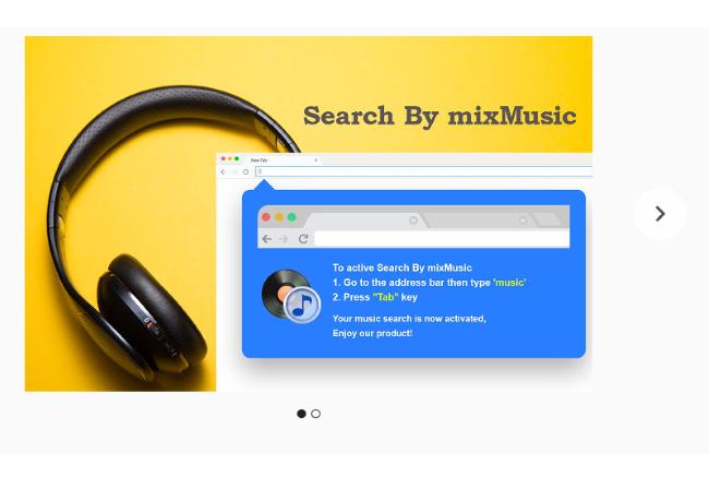 Eliminar búsqueda por el virus de mezclar música