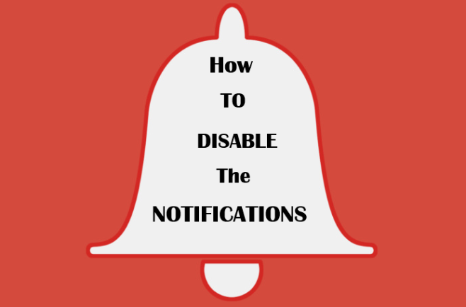 How to disable browser notifications
