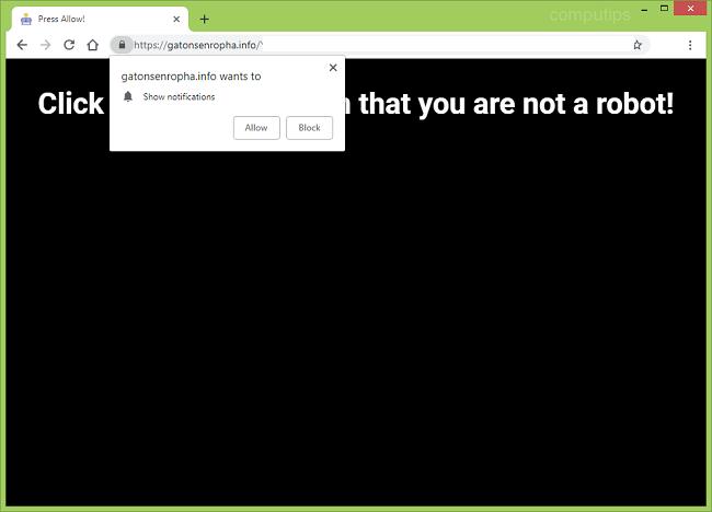 Delete https://gatonsenropha.info, p8.gatonsenropha.info, p7.gatonsenropha.info, p6.gatonsenropha.info, p5.gatonsenropha.info, p4.gatonsenropha.info virus notifications
