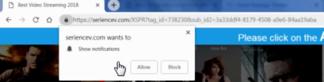 how to remove Seriencev.com