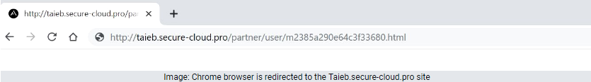 how to remove Taieb.secure-cloud.pro