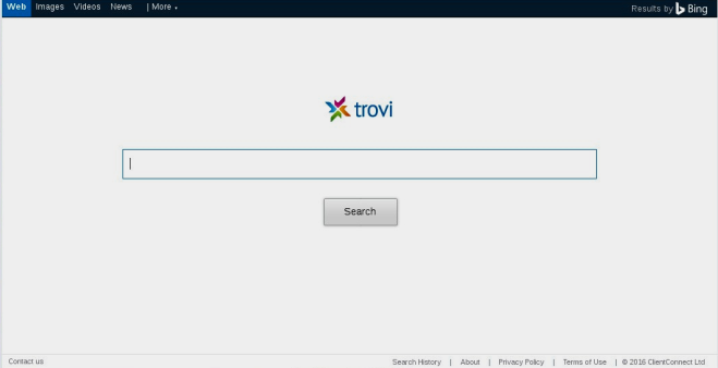 how  to remove trovi search