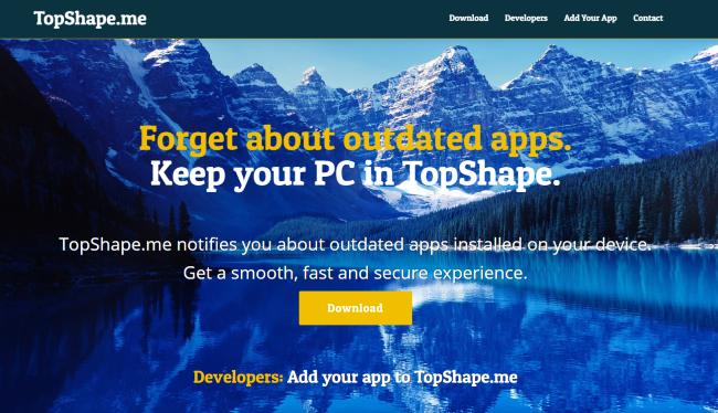 supprimer TopShape.me, TopShape app