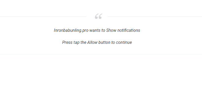 How to remove Inronbabunling.pro