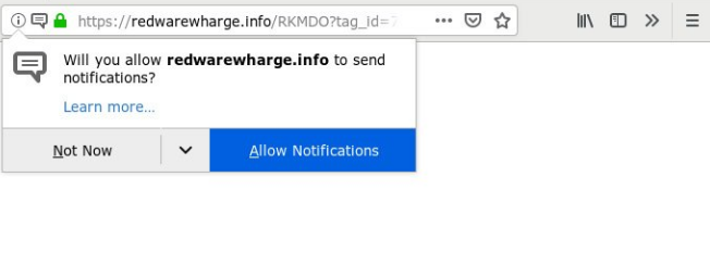 How to remove Redwarewharge.info ads