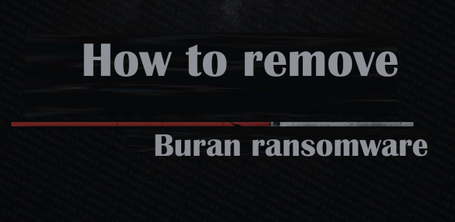 How to remove Buran