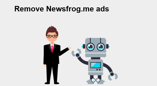 How to remove Newsfrog.me ads